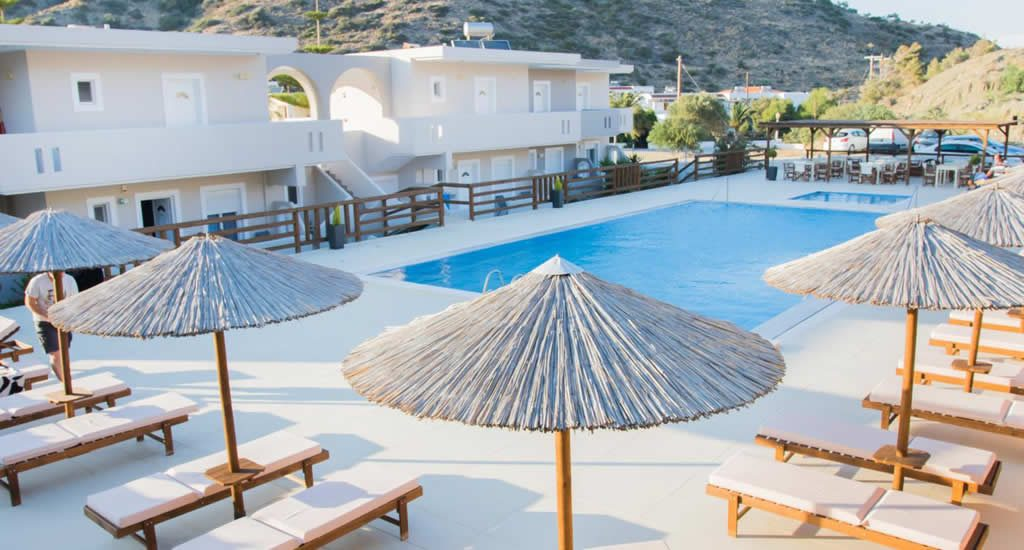 Appartementen Three Stars | Appartementen Karpathos, Griekenland