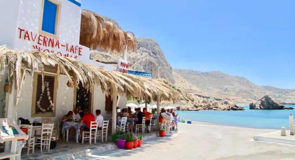 Restaurants Karpathos (foto met dank aan Mama Cuisine, Finiki) | Vakantie Karpathos