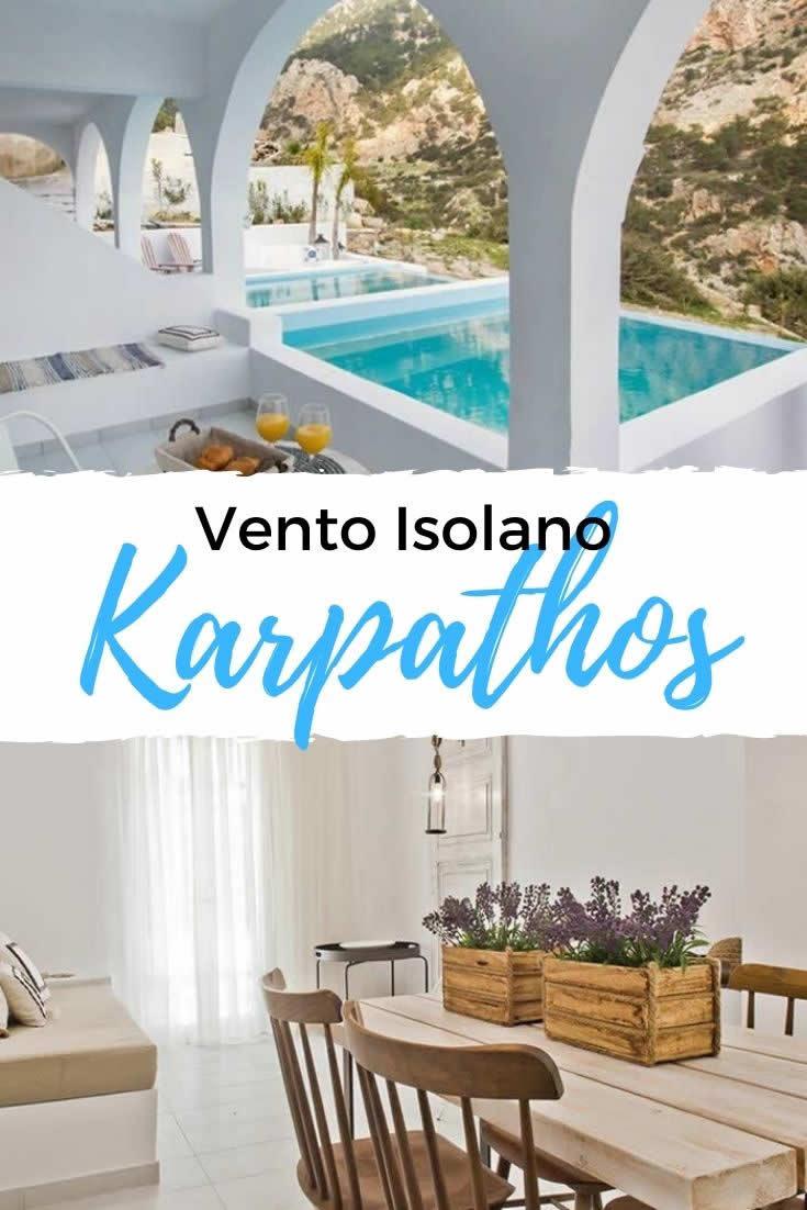 Vento Isolano Karpathos | Vakantie Griekse eilanden, Vento Isolano op Karpathos